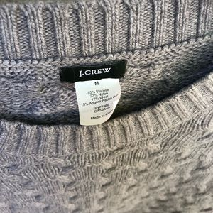 J. Crew Sweaters - J.Crew Cable Knit Tunic Sweater